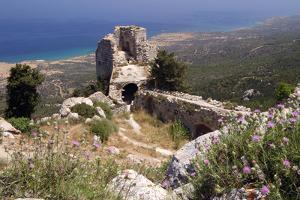 Kantara Castle, North Cyprus by Peter Thompson
