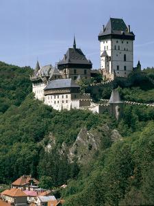 Karlstejn Castle, Czech Republic by Peter Thompson
