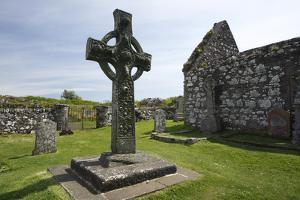 Kildalton Cross, Islay, Argyll and Bute, Scotland by Peter Thompson