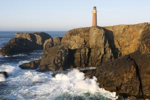 Lighthouse, Butt of Lewis, Lewis, Outer Hebrides, Scotland, 2009 by Peter Thompson