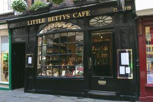 Little Bettys Cafe, York, North Yorkshire by Peter Thompson