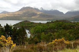 Loch Torridon and the Torridon Hills, Highland, Scotland by Peter Thompson