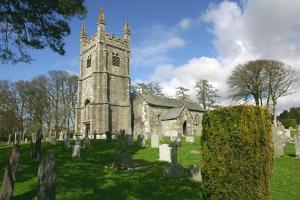 Lydford Church, Devon by Peter Thompson