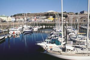 Marina, Albert Harbour, St Helier, Jersey, Channel Islands by Peter Thompson