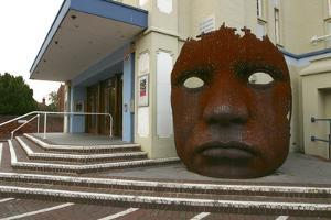 Marlowe Theatre, Canterbury, Kent, 2005 by Peter Thompson