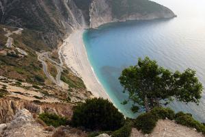 Mirtos Beach, Kefalonia, Greece by Peter Thompson
