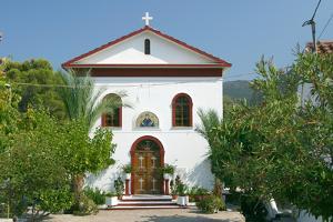 Monastery of Agrilion, Kefalonia, Greece by Peter Thompson