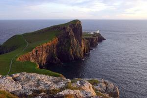 Neist Point Lighthouse, Isle of Skye, Highland, Scotland by Peter Thompson