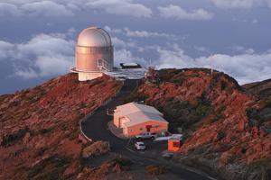 Nordic Optical Telescope, La Palma, Canary Islands, Spain, 2009 by Peter Thompson