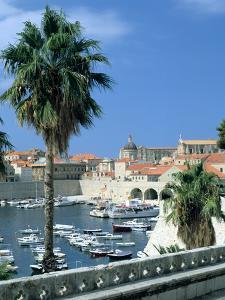 Old Harbour, Dubrovnik, Croatia by Peter Thompson