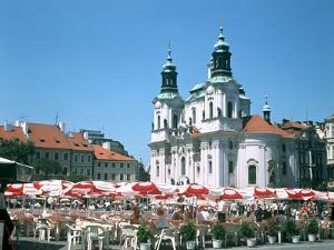 Old Town Square, Prague, Czech Republic by Peter Thompson