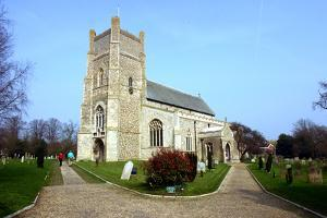 Orford Church, Suffolk by Peter Thompson