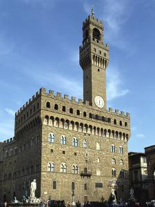 Palazzo Vecchio, Florence, Italy by Peter Thompson