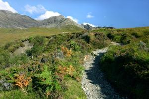 Path from Glen Brittle to Sgurr Alasdair, Cuillin Hills, Isle of Skye, Highland, Scotland by Peter Thompson