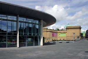 Perth Concert Hall and Art Gallery, Scotland by Peter Thompson