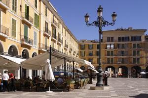Placa Major, Palma, Mallorca, Spain by Peter Thompson