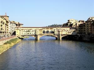 Ponte Vecchio, Florence, Italy by Peter Thompson