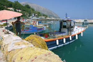 Poros, Kefalonia, Greece by Peter Thompson