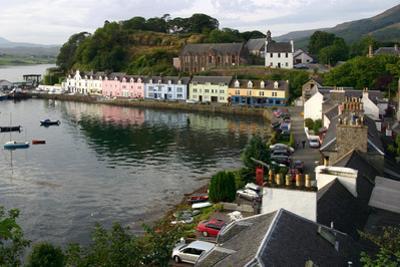 Portree, Isle of Skye, Highland, Scotland by Peter Thompson