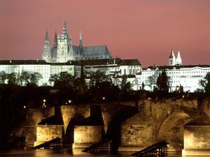 Prague Castle and St Vitus Cathedral, Czech Republic by Peter Thompson