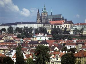 Prague Castle, Prague, Czech Republic by Peter Thompson