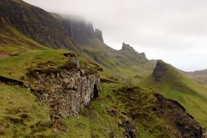 Quiraing, Isle of Skye, Highland, Scotland by Peter Thompson