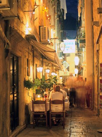 Restaurant, Dubrovnik, Croatia