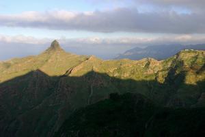 Roque De Taborno, Anaga Mountains, Tenerife, 2007 by Peter Thompson