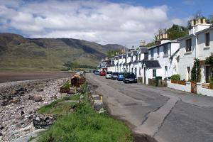 Row of Cottages, Applecross Peninsula, Highland, Scotland by Peter Thompson