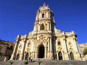 San Giorgio Church, Modica, Sicily, Italy by Peter Thompson