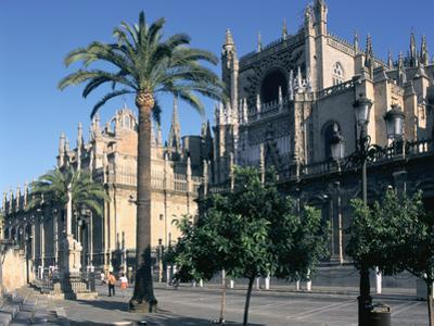 Seville Cathedral, Spain by Peter Thompson