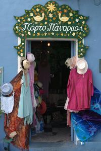 Shop Doorway, Fiskardo, Kefalonia, Greece by Peter Thompson