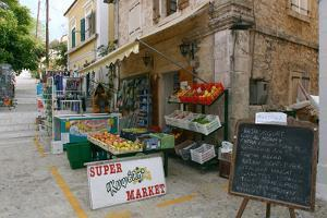 Shop, Fiskardo, Kefalonia, Greece by Peter Thompson