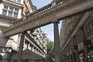 Sicilian Avenue, Bloomsbury, London, 2010 by Peter Thompson