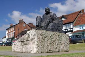 Sir Winston Churchill Statue, Westerham, Kent by Peter Thompson