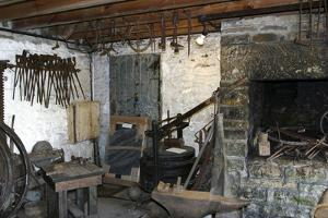 Smithy, North of England Lead Mining Museum, Killhope, Weardale, Durham by Peter Thompson