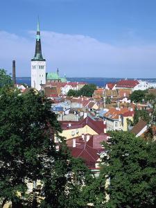 St Olavs Church, Tallinn, Estonia by Peter Thompson