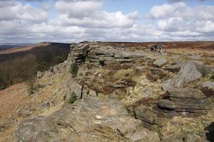 Stanage Edge, Derbyshire, 2009 by Peter Thompson