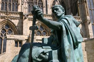 Statue of Constantine the Great, York, North Yorkshire by Peter Thompson