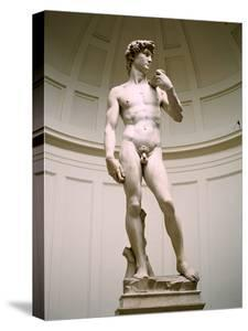 Statue of David, Accademia Gallery, Florence, Italy by Peter Thompson
