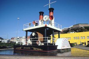 Steam Clock Ariadne, St Helier, Jersey, Channel Islands by Peter Thompson