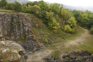 Stone Quarry, the National Stone Centre, Derbyshire, 2005 by Peter Thompson