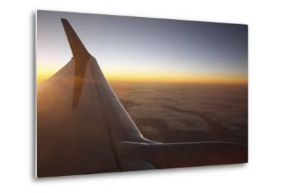 Sunset at 35,000 Feet Above La Palma, Canary Islands, Spain, 2009
