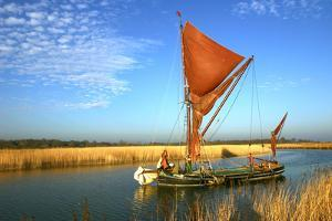 Thames Sailing Barge, Snape, Suffolk by Peter Thompson