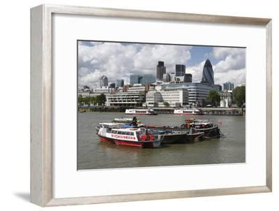 The City from the Thames, London, 2009
