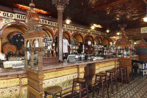 The Crown Liquor Saloon, Belfast, Northern Ireland, 2010 by Peter Thompson
