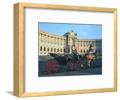 The Hofburg with Carriage, Vienna, Austria