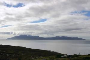 The Island of Rum from Skye, Highland, Scotland by Peter Thompson
