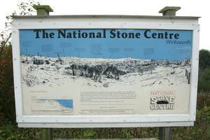 The National Stone Centre, Derbyshire, 2005 by Peter Thompson