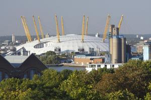 The O2 Arena from Greenwich Park, London, 2009 by Peter Thompson